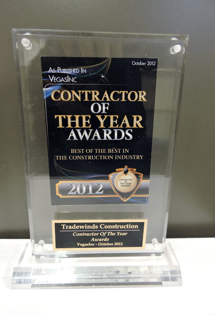 Contractor Year 2012