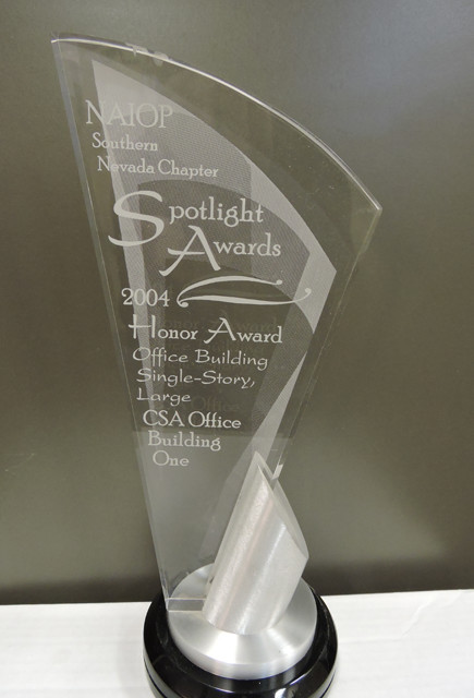 Naiop Spotlight Awards 2004