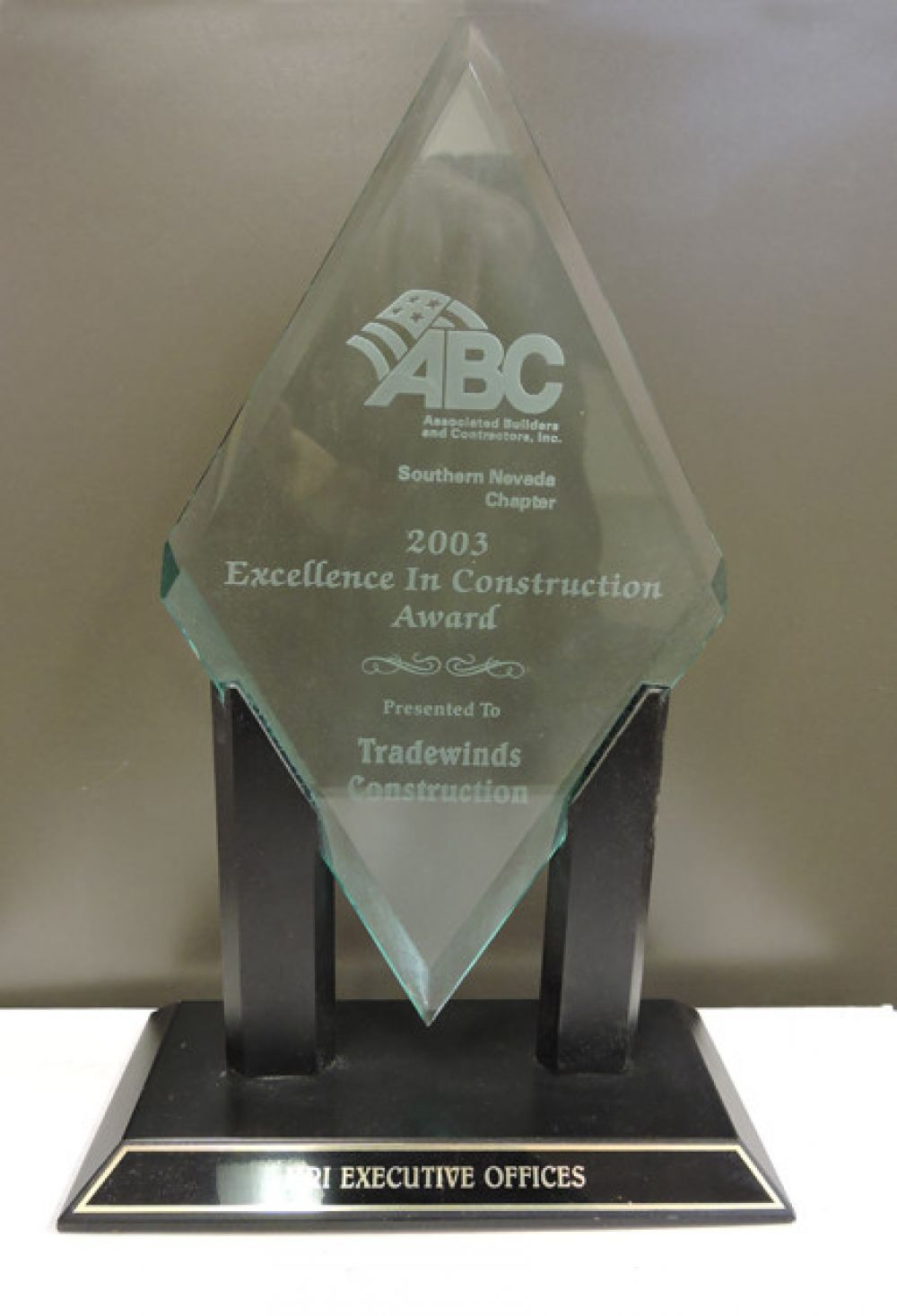 ABC Excellence In Construction 2003