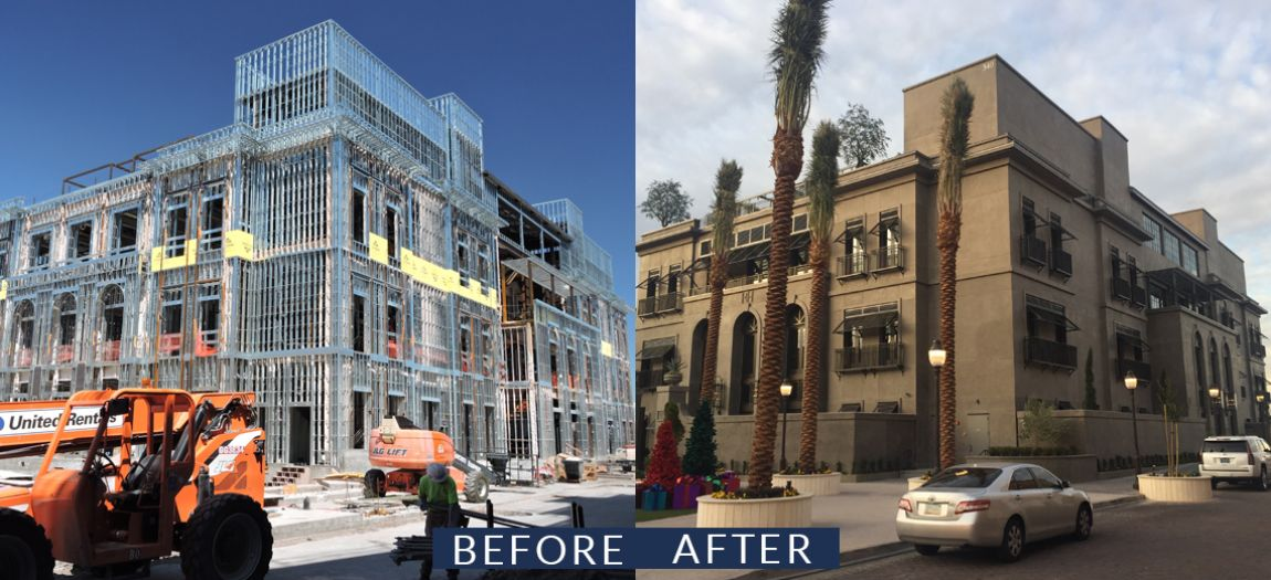 Restoration Hardware Before & After